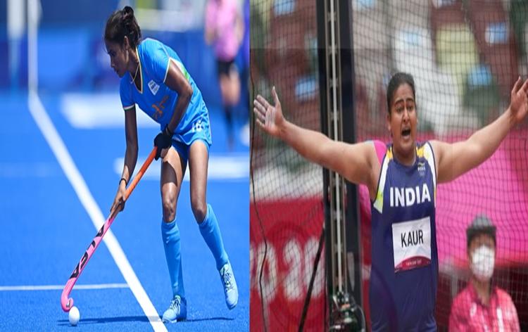टोकियो ऑलिंपिकमध्ये महिला हॉकी आणि थाळीफेकीत भारताची आगेकूच