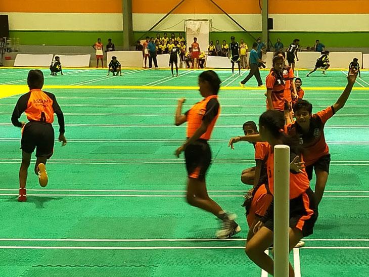 ४० व्या राष्ट्रीय अजिंक्यपद कुमार खो-खो स्पर्धेत महाराष्ट्राच्या दोन्ही संघांची विजयी घोडदौड कायम